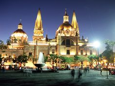 Ah, Guadalajara! This capital city in the heart of Mexico has a historical center so big, so beautiful, you'll be left speechless.