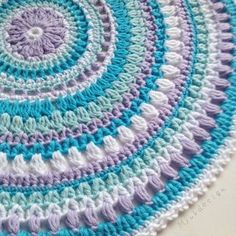 Crochet Mandala Rug Lots Of Free Patterns