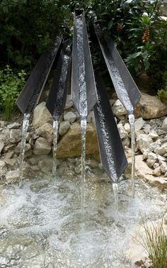 Chelsea flower show 2016 #water #feature
