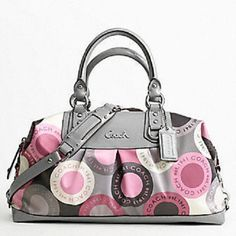 21.Coach Ashley Snaphead Signature Satchel Preloved . Starting at $15