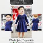 This is a PDF pattern for instant download for this beautiful peplum and dress. THIS IS NOT A FINISHED GARMENT, it is for the pattern that show you and teach you step by step how to sew it!The Dreamy Collection is full of wonder and joy! Beautiful, whimsical, sweet and girly patterns that make the perfect outfit for flower girls, special occasions and photo shoots. They are full of little girl's dream dresses; dresses you can treasure forever.Made to mash perfectly with the other knit pat...