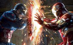 Capitão América: Guerra Civil, duelo feroz
