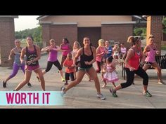 Fifth Harmony - Worth It (Dance Fitness with Jessica) - YouTube