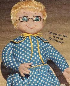 DO YOU REMEMBER THIS DOLL?