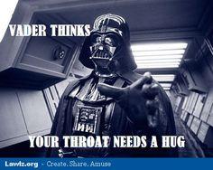 Your throat needs a hug.