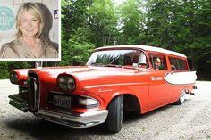 Celebrity Style | Martha Stewart, Classic cars and Station Wagon