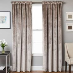 Using Velvet Curtains In Your House