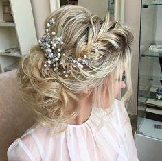 Elstie Long Wedding Hairstyles and Wedding Updos 29   Deer Pearl Flowers