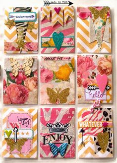 Arts by Tini: My Pocket Letters - Heidi Swapp Pocket Letter