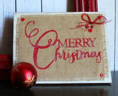 merry christmas sign #modpodgeholiday
