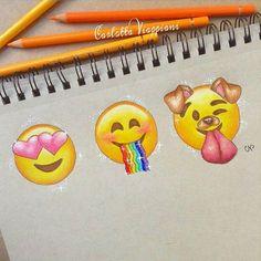 SO CUTE!!!Snapchat emojis!!! More
