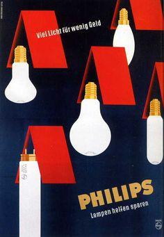 vintage Philips lighting advertisement