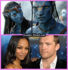 Zoe Saldana & Sam Worthington Are Getting Ready For Three 'Avatar' Sequels! Avatar Films, Avatar Movie, Avatar Costumes, Movie Costumes, Tv Actors, Actors & Actresses, Avatar James Cameron, Avatar Fan Art, Sam Worthington