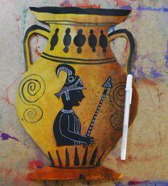 social studies link - greek pottery,   that artist woman