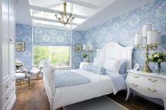 красивые голубые спальни фото