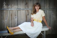 Second Chances by Susan-Tutorials: Pillowcases and Blouse Dress
