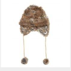 RUDSAK rabbit hat Like new, very nice and warm! Perfect for winter! Rudsak Accessories Hats