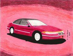 1992 Lincoln Mark Vlll Cougar