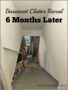Basement Clutter Reveal January 2016