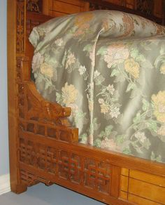 Detail of the Dragon Bed