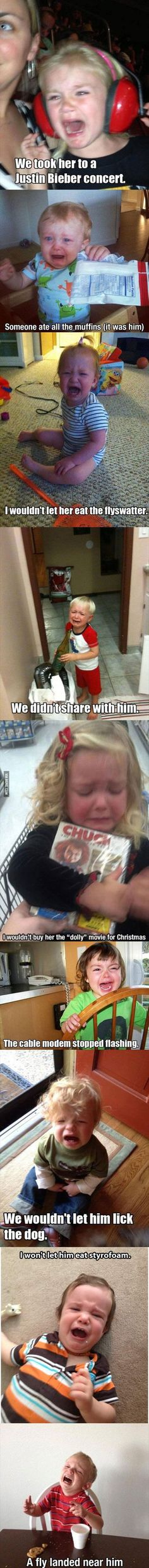 I feel like these are the kinda things my future kids will have meltdowns over...