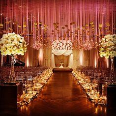 Wedding Decor Inspiration by HMR Designs - Ceremony - Kent Drake Photography