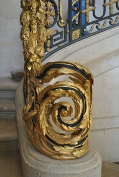 Versailles Series: Marie Antoinette's Chateau, the Petit Trianon Pt. Chateau Versailles, Palace Of Versailles, Trianon Versailles, Grand Staircase, Staircase Design, Stair Design, Fence Design, Marie Antoinette, Escalier Art