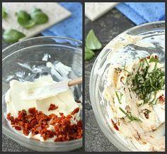 Sun Dried Tomato And Basil Cream Cheese Spread #Food #Drink #Trusper #Tip
