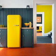 SMEG, un frigorífico Retro-actual.
