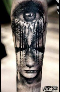 3d Tattoos, Time Tattoos, Forearm Tattoos, Unique Tattoos, Sleeve Tattoos, Body Art Tattoos, Tattoos For Guys, Incredible Tattoos, Beautiful Tattoos