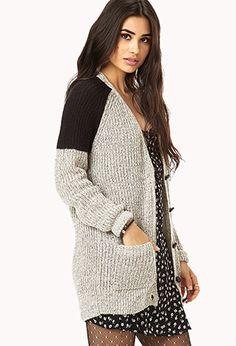 Menswear-Inspired Cardigan | FOREVER 21 - 2000065985