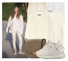 """""""Blogger Style: The Blonde Salad"""" by megi32 ❤ liked on Polyvore featuring River Island, STELLA McCARTNEY, TIBI, adidas Originals, women's clothing, women, female, woman, misses and juniors"""