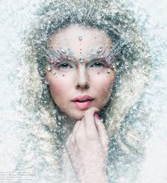 Linda Hallberg - Make-up look 17-12-2013