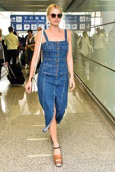 Amor a primera vista con este vestido de Margot Robbie