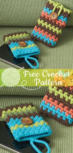 New Crochet Bag Tutorial Phone Covers 59 Ideas Love Crochet, Crochet Gifts, Learn To Crochet, Beautiful Crochet, Diy Crochet, Crochet Baby, Crochet Ideas, Crochet Bag Tutorials, Beginner Crochet Projects