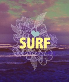 Cool surf graphic