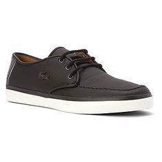 9f5387f28e49 Lacoste Servin LCR Sneaker Black Lacoste Sneakers