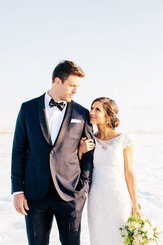 Cute wedding shot