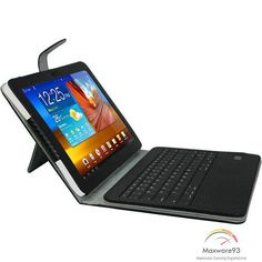 With its removable wireless Bluetooth keyboard, email, chat and more with ease and efficiency. Samsung Cases, Samsung Galaxy, Portfolio Case, Bluetooth Keyboard, Computer Accessories, How To Remove, Phone, Cover, Gifts