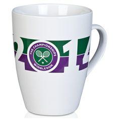 Wimbledon 2014 Date Mug Wimbledon Tennis, Polo Ralph Lauren, Tennis Tournaments, Roger Federer, Dating, Mugs, Game, Souvenir, Mug