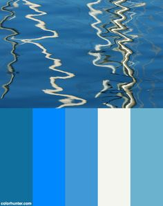 Sea Reflections Color Scheme from colorhunter.com