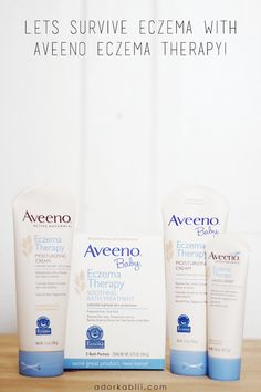 Over 30 million people live with Eczema and there is no cure. My son is among those 30+million people. Jaiden is Surviving Eczema with Aveeno Eczema Therapy Products and is happy to be less itchy and able to enjoy his everyday task and outings!