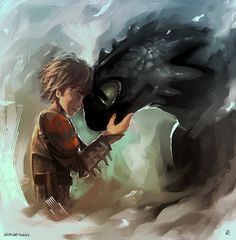 How To Train Your Dragon on Behance
