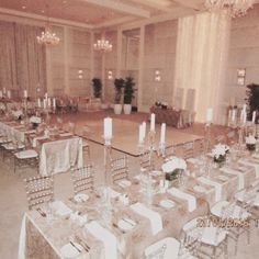 Setting up in the One&Only ballroom. Family style dining with uncluttered elegant lines.