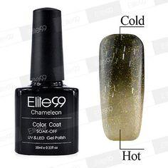 Fashion Lacquer Thermal Change Color Soak Off UV LED Nail Art Gel Polish 5743