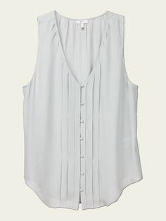 Joie silk tank, $158. Lightweight for Spring/summer months.