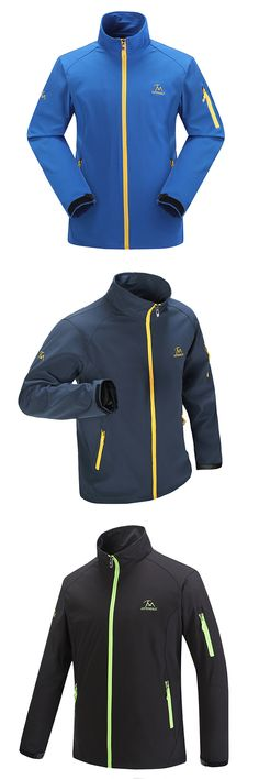 US$32.40 Spring Autumn Sport Water Resistant Breathable Thin Climbing Jackets for Men
