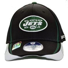 NY Jets NFL Sideline Headwear Reebok Fitted Cap