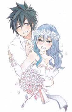Image de gray, gruvia, and fairy tail