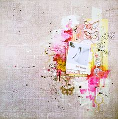 Note to self and expectation - 7DotsStudio; Okay, amazing mixed media work with photograph!